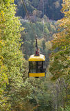 Cableway in Sigulda. Royalty Free Stock Photos