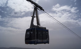 Cableway in the sky Royalty Free Stock Photo