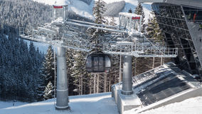 Cableway, Slovakia Stock Images
