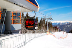 Cableway station in Jasna Low Tatras Royalty Free Stock Photography
