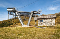 Cableway station Royalty Free Stock Photos