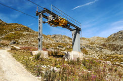 Cableway station Stock Images