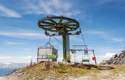 Cableway station Stock Photography