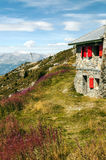 Cableway station Royalty Free Stock Image