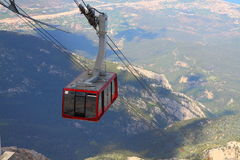 Cableway. Tahtali. Turkey. Royalty Free Stock Photography