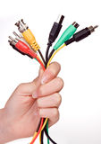 Cabling bouquet Royalty Free Stock Photography