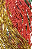 Cabling, data transmission Stock Photography
