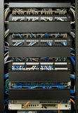 Cabling Rack Stock Photo