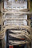 Cabling from a server Stock Photography