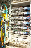 Cabling from a server Stock Images