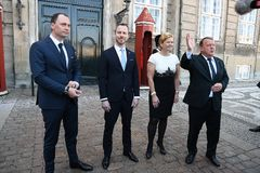 CABNET-MINISTER CAHNEG I DANMARK royaltyfri foto