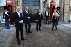 CABNET-MINISTER CAHNEG I DANMARK royaltyfria foton