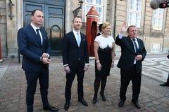 CABNET-MINISTER CAHNEG I DANMARK royaltyfri fotografi