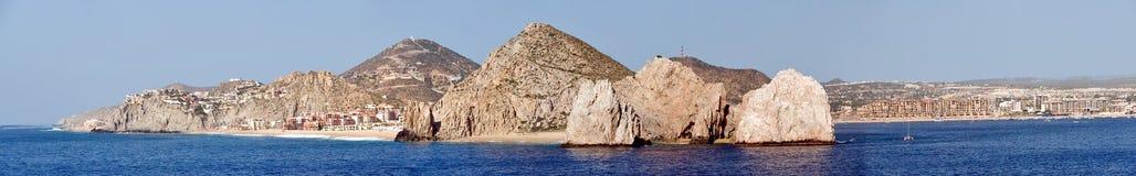 cabo卢卡斯手段风景的圣 免版税库存照片