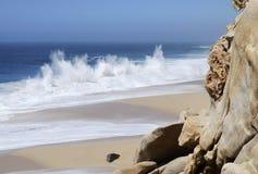 Cabo圣卢卡斯海滩风景 库存图片