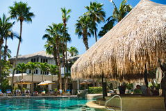 Cabo圣卢卡斯,墨西哥手段水池 免版税库存照片
