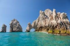 Cabo圣卢卡斯,墨西哥 图库摄影