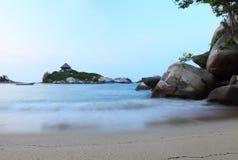 Cabo圣胡安海滩 免版税库存照片