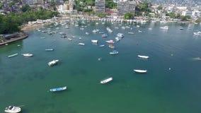 Cabo海岸的看法在墨西哥 股票视频