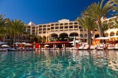 Cabo的San Lucas,墨西哥豪华旅游胜地 免版税图库摄影