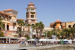 Cabo圣卢卡斯海滨广场 免版税库存图片