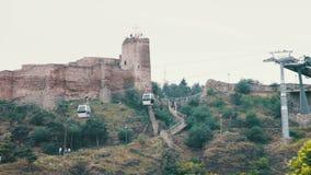 Cabo aéreo em Tbilisi, Geórgia filme