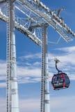 Cabo aéreo moderno em tatras altos, Eslováquia Fotografia de Stock