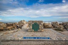 Cabo Agulhas, Suráfrica Imagen de archivo libre de regalías