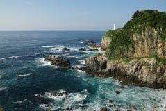 Cabo Ashizuri en Kochi Fotos de archivo