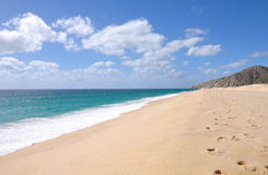 Cabo Beach. Beautiful beach shoreline in Cabo San Lucas, Baja California, Mexico Stock Photos