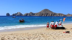 CABO BEACH LIFEGUARDS ON PATROL Royalty Free Stock Images