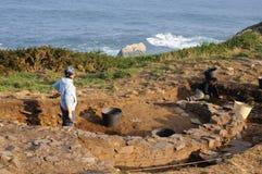 Cabo Blanco.Asturias Images stock