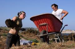 Cabo Blanco. l'Espagne Photographie stock libre de droits