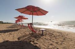 Cabo Branco海滩,若昂佩索阿铅,巴西 库存照片