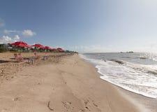 Cabo Branco海滩,若昂佩索阿铅,巴西 免版税图库摄影