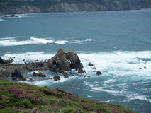 Cabo Busto. Amazing area, located in Asturias, northern Spain. The views are stunning Stock Photography