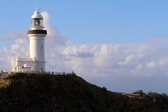 Cabo Byron Light Imagen de archivo
