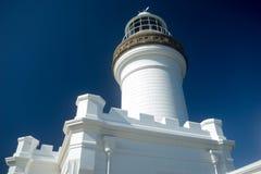 Cabo Byron Light Australa Close View Fotos de archivo libres de regalías