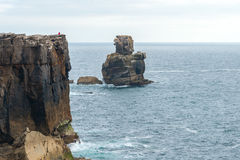 Cabo Carvoeiro near Peniche (Portugal) Royalty Free Stock Photography