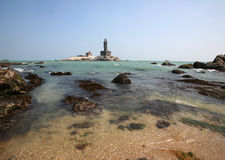 Cabo Comorin, Kanyakumari, la India fotografía de archivo