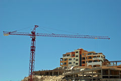 Cabo Construction. Condo construction in Cabo San Lucas Royalty Free Stock Photos