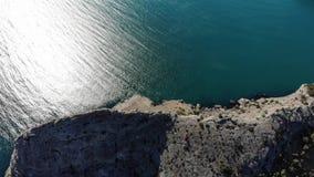 Cabo Crimea de Fiolent almacen de video
