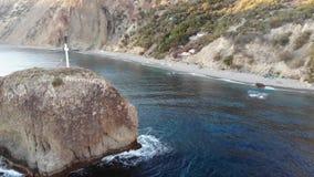 Cabo Crimea de Fiolent almacen de metraje de vídeo