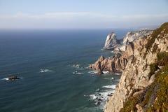 cabo da葡萄牙roca 库存照片