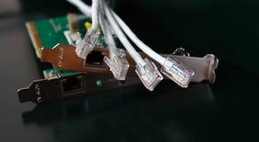 Cabo da rede Imagem de Stock