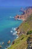 Cabo da Roca海岸 库存图片