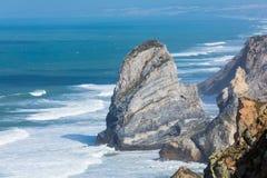 Cabo da roca,西部问题的欧洲,葡萄牙 库存照片