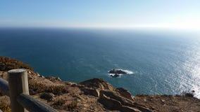 Cabo DA Roca - Πορτογαλία - άποψη Στοκ Εικόνες