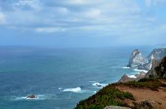 Cabo da Roca, Португалия Стоковые Изображения