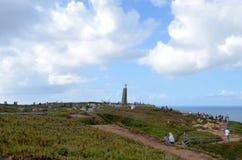 Cabo da Roca, Португалия Стоковые Изображения RF